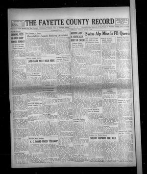 Primary view of object titled 'The Fayette County Record (La Grange, Tex.), Vol. 38, No. 81, Ed. 1 Tuesday, August 9, 1960'.