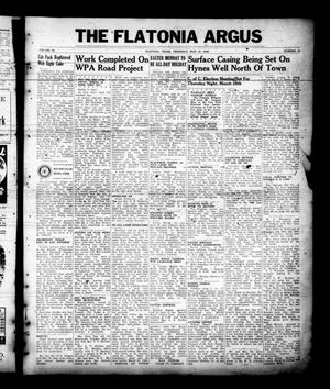 Primary view of object titled 'The Flatonia Argus (Flatonia, Tex.), Vol. 65, No. 13, Ed. 1 Thursday, March 21, 1940'.