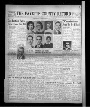Primary view of object titled 'The Fayette County Record (La Grange, Tex.), Vol. 38, No. 62, Ed. 1 Friday, June 3, 1960'.