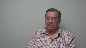 Primary view of Oral History Interview with Richard Longoria, June 8, 2016.