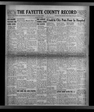 Primary view of object titled 'The Fayette County Record (La Grange, Tex.), Vol. 32, No. 29, Ed. 1 Tuesday, February 9, 1954'.