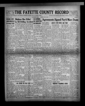 Primary view of object titled 'The Fayette County Record (La Grange, Tex.), Vol. 37, No. 71, Ed. 1 Tuesday, July 7, 1959'.