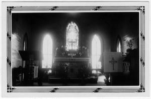 Primary view of object titled '[St. Paul's Church - Interior - Freeport, TX.]'.