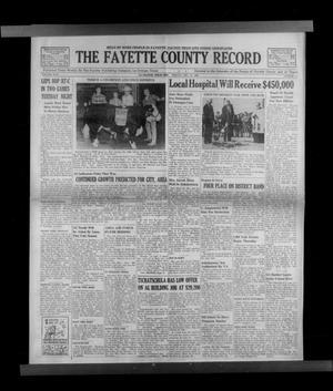 Primary view of The Fayette County Record (La Grange, Tex.), Vol. 44, No. 14, Ed. 1 Friday, December 17, 1965
