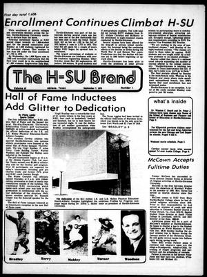 Primary view of object titled 'The H-SU Brand (Abilene, Tex.), Vol. 67, No. 1, Ed. 1, Friday, September 7, 1979'.