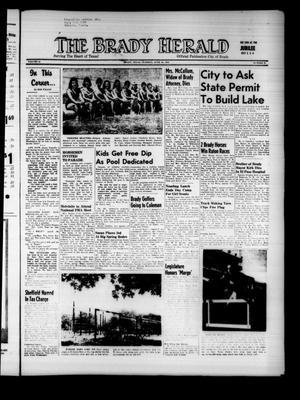 The Brady Herald (Brady, Tex.), Vol. 16, No. 35, Ed. 1 Tuesday, June 16, 1959