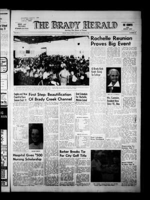 The Brady Herald (Brady, Tex.), Vol. 21, No. 42, Ed. 1 Tuesday, August 25, 1964