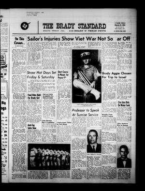 The Brady Standard and Heart O' Texas News (Brady, Tex.), Vol. 55, No. 24, Ed. 1 Friday, March 27, 1964