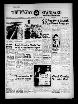 The Brady Standard and Heart O' Texas News (Brady, Tex.), Vol. 50, No. 38, Ed. 1 Friday, July 3, 1959