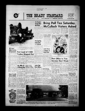 The Brady Standard and Heart O' Texas News (Brady, Tex.), Vol. 55, No. 29, Ed. 1 Friday, May 1, 1964