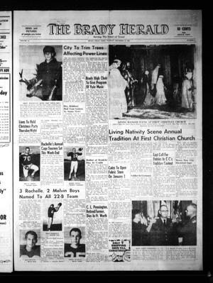 The Brady Herald (Brady, Tex.), Vol. 23, No. 5, Ed. 1 Tuesday, December 14, 1965