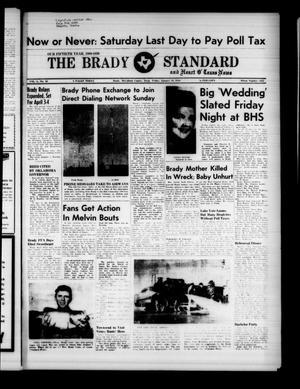 The Brady Standard and Heart O' Texas News (Brady, Tex.), Vol. 50, No. 16, Ed. 1 Friday, January 30, 1959