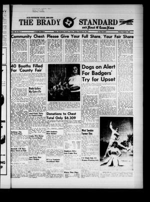 The Brady Standard and Heart O' Texas News (Brady, Tex.), Vol. 51, No. 3, Ed. 1 Friday, October 30, 1959