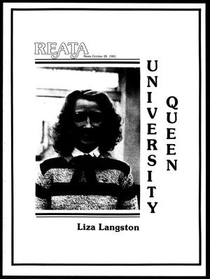 Reata (Abilene, Tex.), October 1983