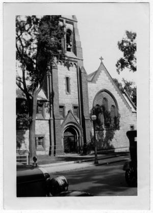 Primary view of object titled '[Grace Church, New Bedford, Mass]'.