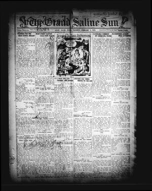 Primary view of The Grand Saline Sun (Grand Saline, Tex.), Vol. 32, No. 12, Ed. 1 Thursday, February 5, 1925