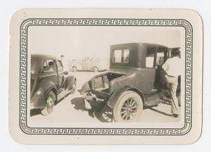 [Photograph of a Man Getting into a Car]