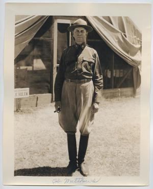 [Photograph of Colonel Matthews in Uniform]
