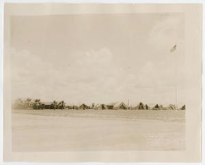 Primary view of object titled '[Official Photograph of Camp Hulen Tents]'.
