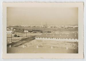 Primary view of object titled '[Aerial View of Camp Hulen]'.