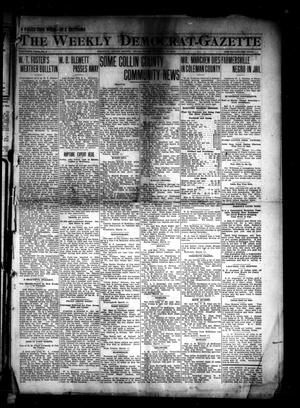 The Weekly Democrat-Gazette (McKinney, Tex.), Vol. 30, No. 6, Ed. 1 Thursday, March 13, 1913