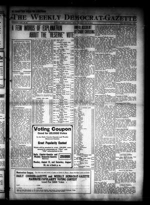 The Weekly Democrat-Gazette (McKinney, Tex.), Vol. 30, No. 28, Ed. 1 Thursday, August 14, 1913