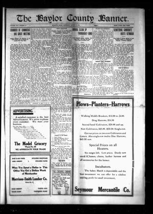 The Baylor County Banner. (Seymour, Tex.), Vol. 17, No. 25, Ed. 1 Thursday, March 16, 1922