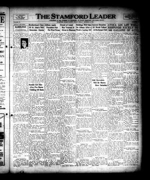 The Stamford Leader (Stamford, Tex.), Vol. 40, No. [2], Ed. 1 Friday, October 13, 1939