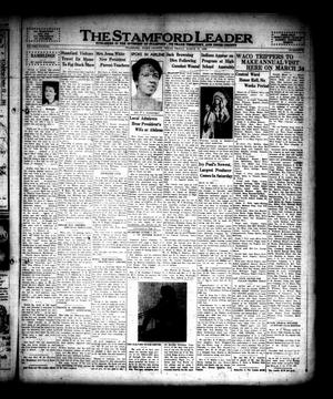 The Stamford Leader (Stamford, Tex.), Vol. 38, No. 24, Ed. 1 Friday, March 17, 1939