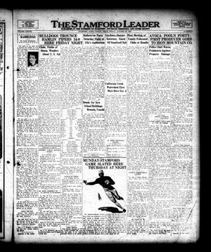 The Stamford Leader (Stamford, Tex.), Vol. 38, No. 4, Ed. 1 Friday, October 28, 1938