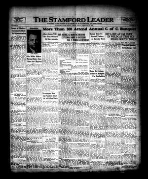 The Stamford Leader (Stamford, Tex.), Vol. 40, No. 18, Ed. 1 Friday, February 2, 1940