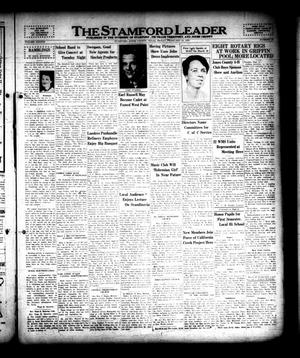The Stamford Leader (Stamford, Tex.), Vol. 38, No. 19, Ed. 1 Friday, February 10, 1939