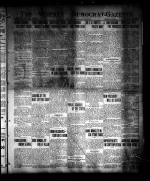 The Weekly Democrat-Gazette (McKinney, Tex.), Vol. 30, No. 39, Ed. 1 Thursday, October 30, 1913