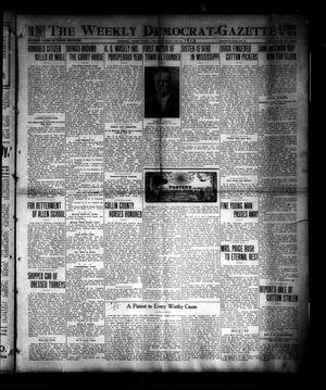 The Weekly Democrat-Gazette (McKinney, Tex.), Vol. 30, No. 42, Ed. 1 Thursday, November 20, 1913