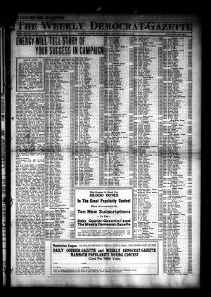 Primary view of object titled 'The Weekly Democrat-Gazette (McKinney, Tex.), Vol. 30, No. 26, Ed. 1 Thursday, July 31, 1913'.