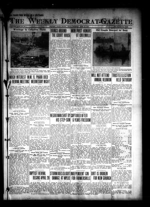 Primary view of object titled 'The Weekly Democrat-Gazette (McKinney, Tex.), Vol. 30, No. 10, Ed. 1 Thursday, April 10, 1913'.
