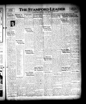 Primary view of object titled 'The Stamford Leader (Stamford, Tex.), Vol. 39, No. 50, Ed. 1 Friday, September 15, 1939'.