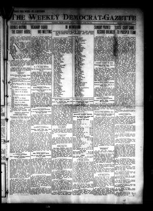 Primary view of object titled 'The Weekly Democrat-Gazette (McKinney, Tex.), Vol. 30, No. 12, Ed. 1 Thursday, April 24, 1913'.