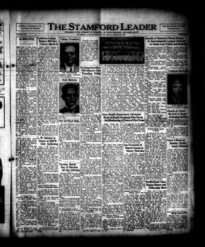 Primary view of object titled 'The Stamford Leader (Stamford, Tex.), Vol. 41, No. [26], Ed. 1 Friday, March 28, 1941'.
