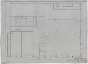 Primary view of object titled 'Radford Store and Office Building, Abilene, Texas: Mezzanine Floor Plan'.