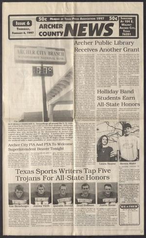 Archer County News (Archer City, Tex.), No. 6, Ed. 1 Thursday, February 6, 1997