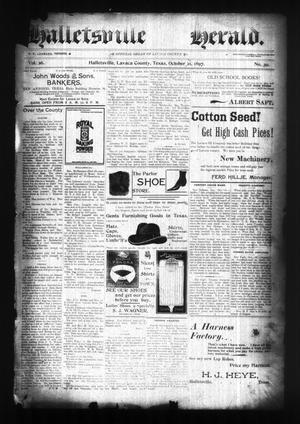 Halletsville Herald. (Hallettsville, Tex.), Vol. 26, No. 39, Ed. 1 Thursday, October 21, 1897