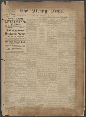 The Albany News. (Albany, Tex.), Vol. 6, No. 8, Ed. 1 Thursday, May 23, 1889