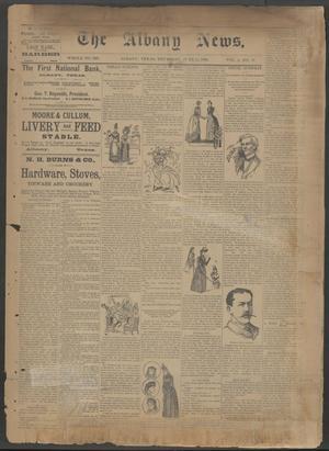 The Albany News. (Albany, Tex.), Vol. 6, No. 11, Ed. 1 Thursday, June 13, 1889