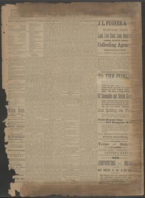 The Albany News. (Albany, Tex.), Vol. 6, No. 33, Ed. 1 Thursday, November 14, 1889