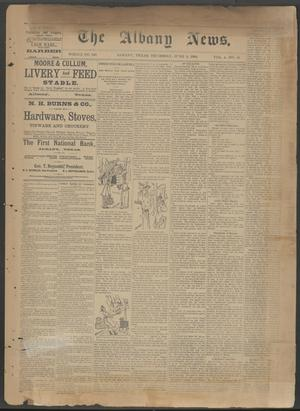 The Albany News. (Albany, Tex.), Vol. 6, No. 10, Ed. 1 Thursday, June 6, 1889