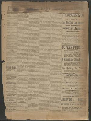 The Albany News. (Albany, Tex.), Vol. 6, No. 36, Ed. 1 Thursday, December 5, 1889