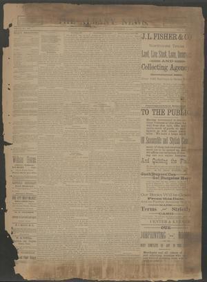 The Albany News. (Albany, Tex.), Vol. 6, No. 34, Ed. 1 Thursday, November 21, 1889