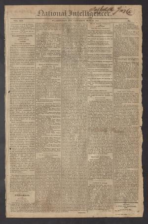National Intelligencer. (Washington City [D.C.]), Vol. 13, No. [1980], Ed. 1 Saturday, May 29, 1813