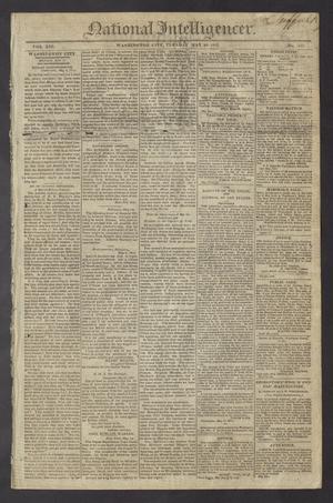 National Intelligencer. (Washington City [D.C.]), Vol. 13, No. 1975, Ed. 1 Tuesday, May 18, 1813